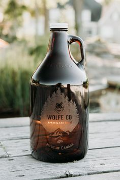 Alcohol Bottles, Strong Arms, Tough As Nails, Cool Themes, Beverages, Drinks, Amber Glass, Glass Etching, British Columbia