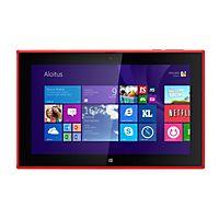 Punainen Lumia 2520 tabletti