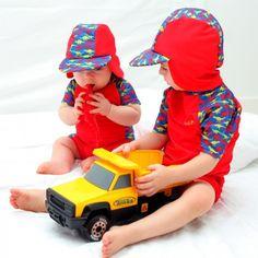Rashoodz Boys Rashshirt Pants and Hat Jurassic Jive  af7e01cf39e4