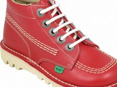 Kickers Red Kick Hi Boot