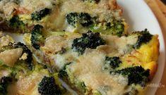 Tartă cu broccoli, bacon și brânză gorgonzola Low Carbon, Lchf, Quiche, Broccoli, Bacon, Pizza, Vegetables, Breakfast, Food