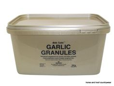 Gold Label Garlic Granules An easy to feed type of pure garlic a proven supplement to help maintain a healthy respiratory system 3 KG.