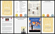 A year of Personal Progress activities Jeanius Ideas for YW