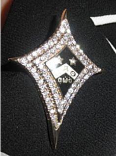 National President's Badge... bling Kappa Alpha Theta, Sorority And Fraternity, Greek Life, Black Gold, Bling, Badges, Mexican, Girls, Recipes