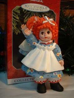 Hallmark New 1998 MOP Top Wendy Raggedy Ann Madame Alexander 3rd Ornament | eBay