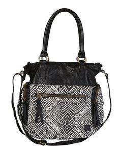 Billabong Wms Off The Shore Shoulder Bag - Off Black