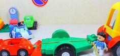 Детские игрушки!Эвакуатор отвозит Кабриолет на штрафплощадку Развивающие...