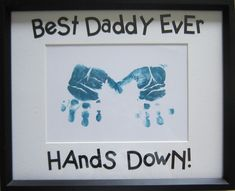 First Fathers Day Gift....or switch it for mothers day..