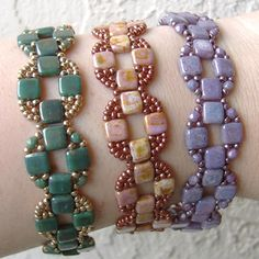 Coin Bands by Deb Roberti, AroundTheBeadingTable.com