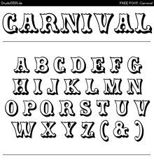 carnival font by rick mueller fontspace http www fontspace com