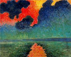 Effect of Sun on the Water, London - Andre Derain, 1906. Musée de l'Annonciade, Saint-Tropez, France