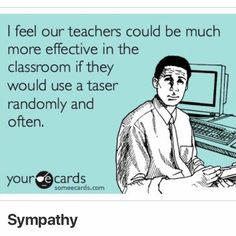 Funny School, School Humor, School Stuff, Teacher Humour, Teacher Stuff, E Cards, Classroom, Education, Feelings