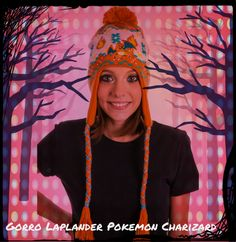 Gorro Laplander Pokemon Charizard