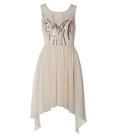 Dip Back Hem Sequin Dress £65