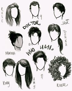 'Who' hair by anxiouspineapples.deviantart.com on @deviantART