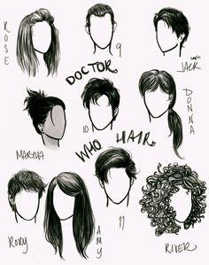 'Who' hair by anxiouspineapples.deviantart.com on @deviantART