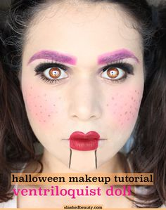 Halloween costumes (meaning clothes and various accessories) are awesome. Some of them are even beyond awesome. But you know what is a little unexpected and seriously takes some skill? A detailed, realistic, very interesting Halloween makeup look. Sometimes these makeup looks are so good that you don't even need to pair them with a costume. You can just put on all black or another solid color, and everyone will be so impressed by the makeup you did that they won't even notice your clothes.