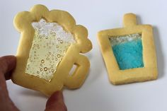 Beer & cookies? (Stained Glass #Cookies!)『ステンドグラスクッキー』