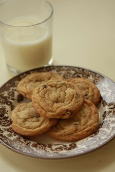 Favorite chocolate chip cookies-good!  used choc chips and white choc chips, no nuts, yum