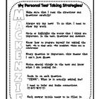This packet contains numerous pages that will help you add a fun twist to the task of test taking.  Have kids add a splash of color to decorate the...