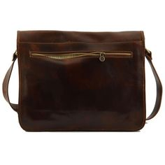 Tuscany Leather MESSENGER DOUBLE Freestyle leather bag