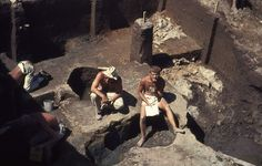 Archaeological excavations at the Wildcat Canyon site, Oregon (USA), 1966 by gbaku, via Flickr