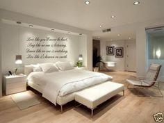 $13.99 - Love Sing Dance Live Wall Decal Sticker Bedroom Home #ebay #Home & Garden