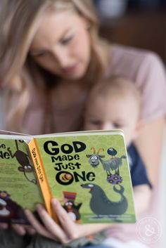 This story book is perfect for all ages with a message that can be read over again and again. Our God Made Just One book is one of our best sellers, perfect for a birthday gift or shower present!
