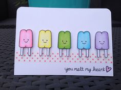 This card is so adorable!! _ The rainbow fellows | Flickr - Photo Sharing! _ Lawn Fawn - Here's the Scoop