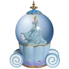 Westland Giftware Water Globe, 100mm, Disney Cinderella's Carriage *** You can find out more details at the link of the image.