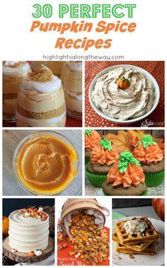 Easy Pumpkin Spice Recipes for Fall and Halloween parties. Pumpkin Recipes, Fall Recipes, Whole Food Recipes, Vegan Recipes, Dessert Recipes, Desserts, Best Pumpkin, Pumpkin Spice, Kid Friendly Meals