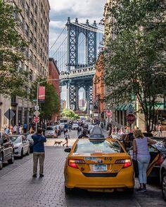 Washington street in Brooklyn NYC.