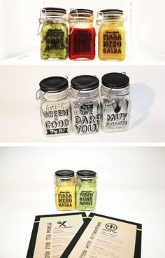 This would also be a fun DIY | Stacia Starkes / Packaging design - Kayak Kafe