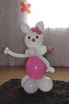 Источник интернет Balloon Crafts, Balloon Decorations, Birthday Party Decorations, Birthday Parties, Farm Animal Party, Balloon Modelling, Fiesta Party, Party Party, Fourth Birthday