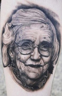 Realism Portraits Tattoo by Tye Harris? Tattoo Images, Tattoo Photos, Portrait Tattoos, Body Art Tattoos, Cool Tattoos, Unusual Tattoo, Sweet Tattoos, World Tattoo, Tattoos Gallery