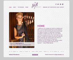 Style Speaks Website Development (www.stylespeaks.com) by Design Intensified.    www.designintensified.com