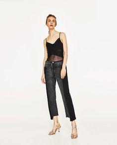 Image 1 of TULLE BALLERINA BODYSUIT from Zara