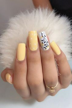 50 Elegant Fall Nail Art Designs that Will Beautify Your Look nails nail art technician beauty suzie polish caree Summer Acrylic Nails, Best Acrylic Nails, Summer Nails, Fall Nail Art Designs, Acrylic Nail Designs, Nice Nail Designs, Gel Nails, Nail Polish, Coffin Nails