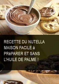 Recette du Nutella maison facile à préparer et sans l'huile de palme ! #Huile #Maison #Recette #Preparer #Prepare #Facile