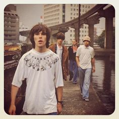 The stone roses<br> Outfit Essentials, Stone Roses, Indie Fashion, 90s Fashion, Paul Weller, Acid House, Britpop, Aesthetic Indie, Indie Music