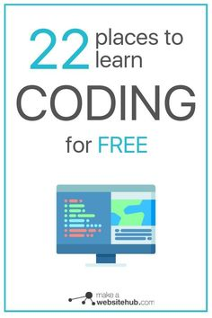 Job Discover 22 Places to Learn to Code for Free in 2020 - Make A Website Hub If you are looking to learn coding for free these 22 resource hubs are the place. Check out the best free coding resources now. Learn Coding Online, Learn Computer Coding, Learn Computer Science, Computer Technology, Gaming Computer, Medical Technology, Energy Technology, How To Learn Coding, Technology Apple