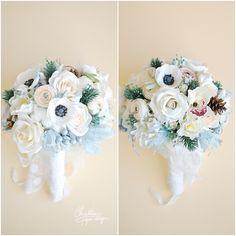 4Christine paper design - paper flowers wedding bouquet