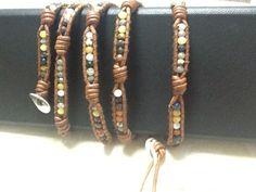 New Wrap Bracelet by Chan Luu Brown Leather | eBay