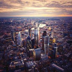 London skyline, England - Descubre Londres: www.blogdelondres.es