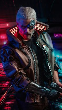 Cyberpunk The Witcher, Geralt of Rivia, game wallpaper<br> Cyberpunk 2077, Cyberpunk City, Cyberpunk Kunst, Cyberpunk Aesthetic, Cyberpunk Fashion, The Witcher Game, The Witcher Geralt, Geralt Of Rivia, Character Concept