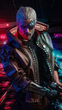 Cyberpunk The Witcher, Geralt of Rivia, game wallpaper<br> Cyberpunk 2077, Cyberpunk City, Cyberpunk Kunst, Cyberpunk Aesthetic, Cyberpunk Fashion, The Witcher Game, The Witcher Geralt, Geralt Of Rivia, Witcher Art