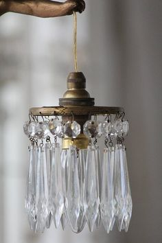 Victorian Home Decor, Vintage Home Decor, Rustic Chandelier, Chandelier Lighting, Fru Fru, Unique Lighting, Vintage Lamps, Dream Decor, Lamp Shades