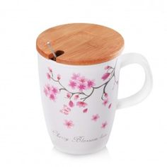 KUBEK CHERRY Kitchen Accessories, Cherry, Mugs, Tableware, Kitchen Fixtures, Dinnerware, Tumblers, Tablewares, Prunus