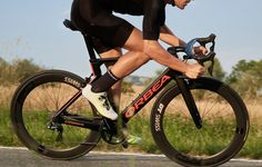 The new Orbea Orca Aero looks faster and stiffer than ever—here's what makes it so. Life Cycles, My Ride, Road Bike, Fun Workouts, How To Look Better, Cycling, Bicycle, Black And White, Sport