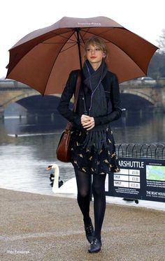 Dress for the Rain Celeb-Style - #TaylorSwift